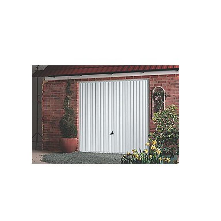 Carlton 8 X 7 Frameless Steel Garage Door White 29734 Near Me