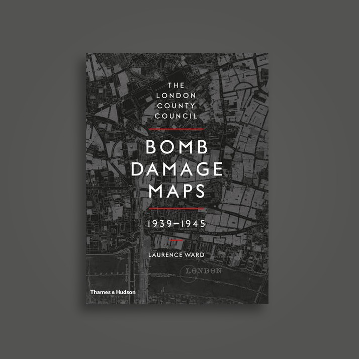 The London County Council Bomb Damage Maps 1939-1945 - London Metropolitan Archives, Laurence Ward